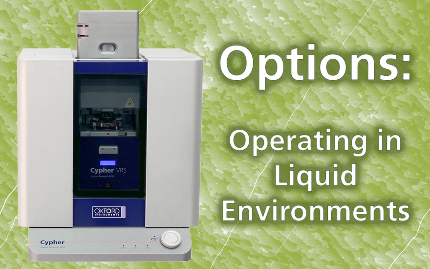 Cypher Accessories: Operating in Liquid Environments